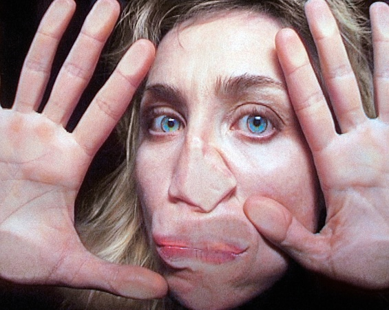 Pipilotti Rist,  Open My Glade (Flatten) , 2000 (still). Single-channel video installation, silent, color; 9 min. © Pipilotti Rist. Courtesy the artist, Hauser & Wirth, and Luhring Augustine