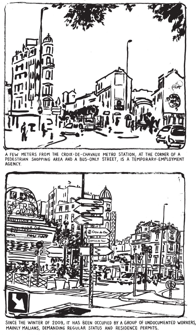 Black And White Postcard From >> Postcard From Montreuil Believer Magazine